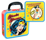 Wonder Woman Square Tin Lunchbox Lunch Box