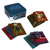 Star Wars 10 pc Wood Coaster Set with Tin Box Coaster