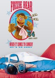 Muppets - Fozzie Peel & Stick Giant Wall Decal Wall Decal