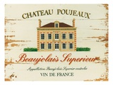 Chateau Poujeaux Premium Giclee Print by Martin Wiscombe