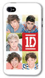 One Direction - 5 Head Shots iphone 4/4S Case iPhone 4/4S Case