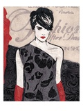 Fashion Girl Prints by Melissa Pluch