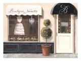 Boutique Nanette Affiches par Marco Fabiano