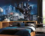 Batman - Dark Knight Rises Prepasted Mural 6' x 10.5' - Ultra-strippable Nástěnný výjev