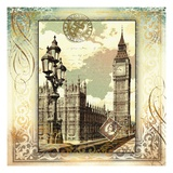 London Memories Print by Malcolm Watson