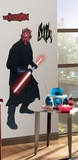 Star Wars Episodes 1 - 3 - Darth Maul Peel &amp; Stick Giant Wall Decal Wall Decal
