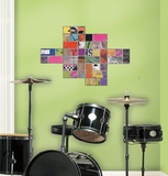 Art of Board Square Peel & Stick Giant Wall Decals Wall Decal