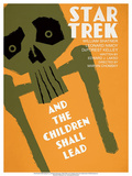 Star Trek Episode 59: And the Children Shall Lead Kunstdrucke