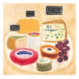Cheese Plate 2 Prints by Maret Hensick