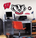 University of Wisconsin Peel & Stick Giant Wall Decals Autocollant mural