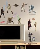 Star Wars Episodes 1-3 Peel & Stick Wall Decals Kalkomania ścienna