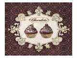Gilded Cupcakes Affiches par Stefania Ferri