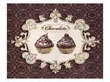Gilded Cupcakes Prints by Stefania Ferri