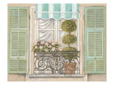 French Shutters 1 Posters by Stefania Ferri