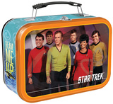 Star Trek Large Tin Lunchbox Lunch Box