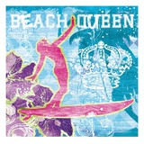 Beach Queen Print by Joan Coleman