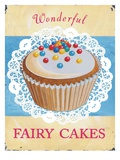 Wonderful Fairy Cakes Prints by Martin Wiscombe