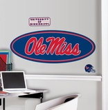 University of Mississippi Peel & Stick Giant Wall Decals Wall Decal