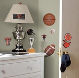 Texas Tech Peel &amp; Stick Wall Decals Wall Decal