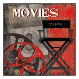 Movie Time Giclee Print by Sandra Smith
