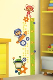 Team Umizoomi Peel &amp; Stick Growth Chart Wall Decals Wall Decal
