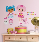 Lalaloopsy Peel & Stick Giant Wall Decals Wall Decal