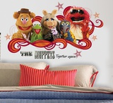 Muppets - Collage Peel & Stick Giant Wall Decal Wall Decal