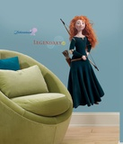 Brave - Merida Peel &amp; Stick Giant Wall Decal Wall Decal