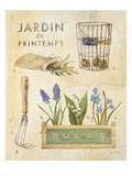 Spring Garden Poster Print by Angela Staehling