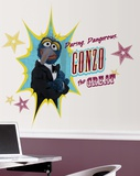 Muppets - Gonzo Peel & Stick Giant Wall Decal Wall Decal
