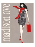 Fashion Type 1 Giclee Print by Marco Fabiano
