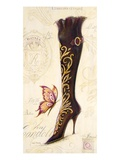 Embellished Boot Giclee Print by Angela Staehling