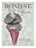 Bond Street Elegance Kunstdruck von Chad Barrett