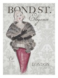 Bond Street Elegance Poster by Chad Barrett