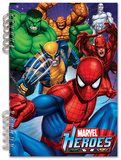 Marvel Heroes Lenticular Spiral Notebook Journal