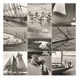 Mystic Seaport Montage Reproduction procédé giclée par  Mystic Seaport Museum