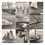 Mystic Seaport Montage Art by  Mystic Seaport Museum