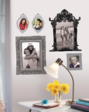 Black & Gray Frames Peel & Stick Giant Wall Decals Wall Decal