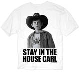 The Walking Dead - Stay In The House T-paita