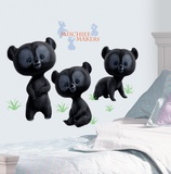 Brave - 3 Brother Bear Peel & Stick Giant Wall Decals Wall Decal