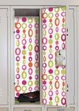 Beaded Curtain Peel & Stick Locker Skins Vinilo decorativo