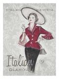 Italian Glamour Kunstdrucke von Chad Barrett