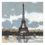Cloudy Day in Paris 1 Giclee Print by Norman Wyatt Jr.