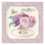 Teatime Roses Print by Stefania Ferri