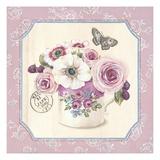 Teatime Anemones Poster von Stefania Ferri