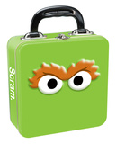 Sesame Street - Oscar Square Tin Lunchbox Lunch Box