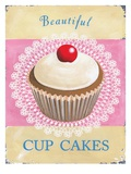 Beautiful Cup Cakes Giclee Print by Martin Wiscombe