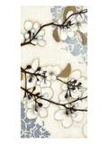 Damask Cherry Blossoms 2 Reproduction procédé giclée par Norman Wyatt Jr.