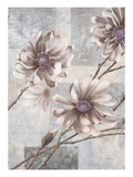 Pewter Petals 2 Premium Giclee Print by Jurgen Gottschlag