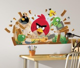 Angry Birds Peel &amp; Stick Giant Wall Decals Wall Decal